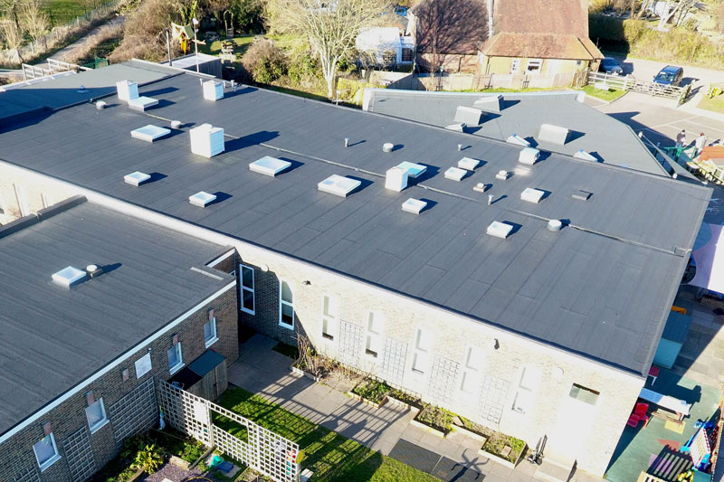 Flat roofing previous projects photo gallery